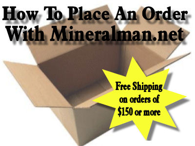 How to place an order with Mineralman.net